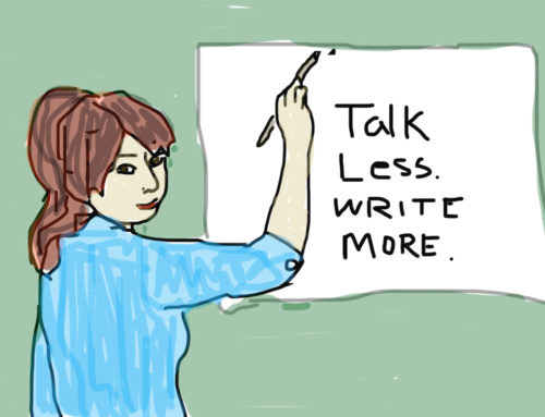 To Heal Childhood Abuse and Neglect: Talk Less. Write More.